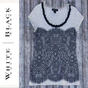White House Black Market • Short Sleeve Tee